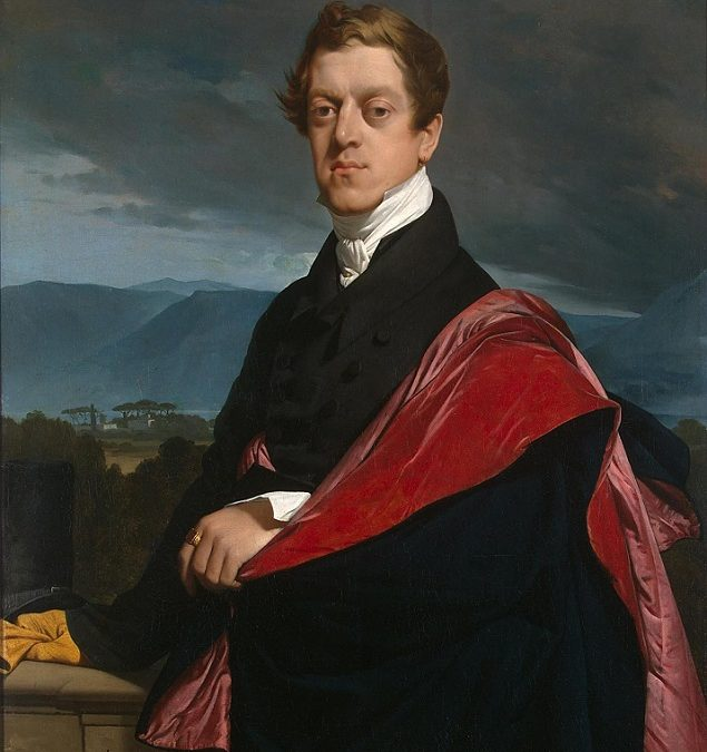 Jean-Auguste Dominique Ingres by Jean-Baptiste Gouraud