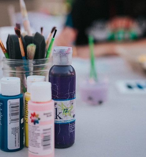 Les outils nécessaires à la peinture à l'huile