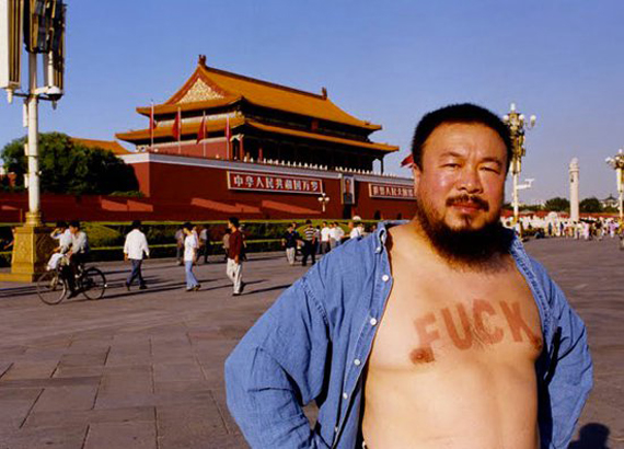 Ai Wei Wei, almost politician, fully committed artist