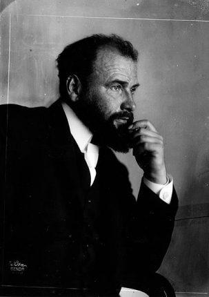 Le portrait de Gustav Klimt