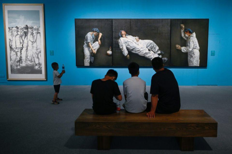 La Chine organise une exposition célébrant la victoire du peuple sur le coronavirus