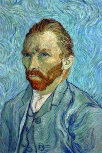 Autoportrait Van Gogh 1989