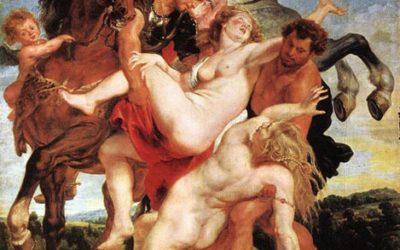 L'Enlèvement des filles de Leucippe de Paul Rubens