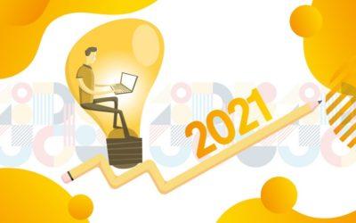 Les 5 plus grandes tendances de la conception graphique en 2021