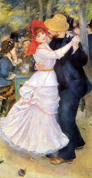 « La Danse à Bougival » d'Auguste Renoir, une ode à la joie