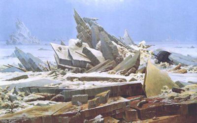 La mer de glace, de Caspar David Friedrich