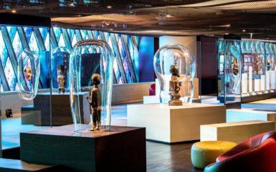 La nouvelle galerie au musée du quai Branly