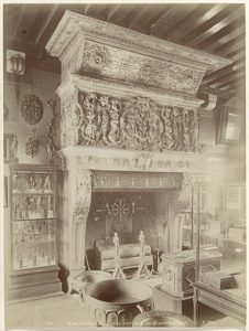 16th century mantel, by Hugues Lallemand